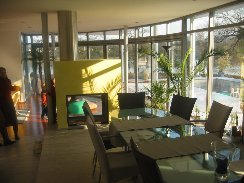 Villa am Rhein: hhp-architekten