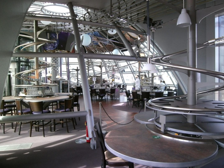 Restaurant Schwerelos Dresden Hhp Architekten