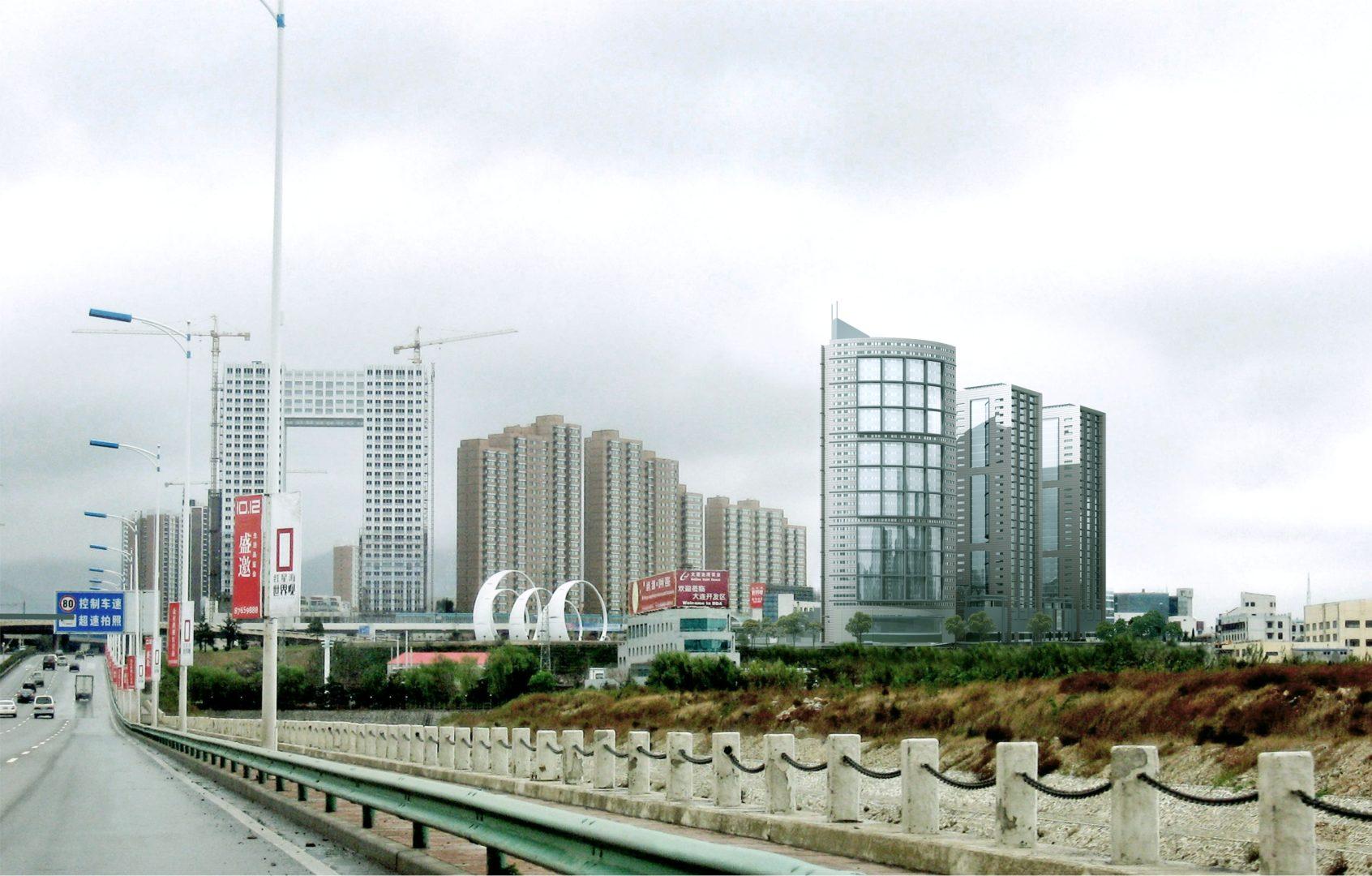 Wohn & Shoppingareal Dalian